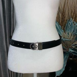Accessories - Italian genuine leather black belt